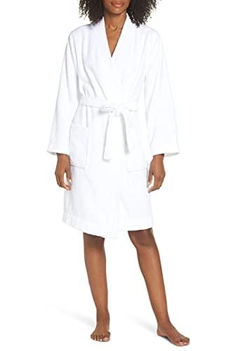 UGG Women's Lorie Terry Robe Sleepwear, -White, M/L