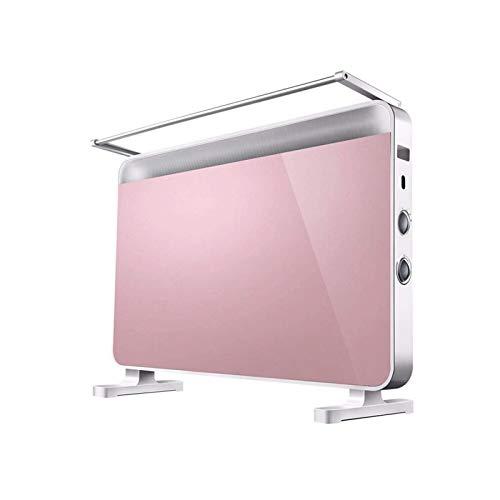 Bdesign Calentador de Espacio cerámico 2200W, Mini Ventilador de Calentador Personal eléctrico con función de rotación, protección excesiva y Punta, Viento Natural/bajo Calor/Alto Calor