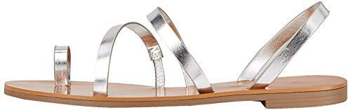 Marca Amazon - find. Flat Gladiator - Sandalias de Gladiador Mujer