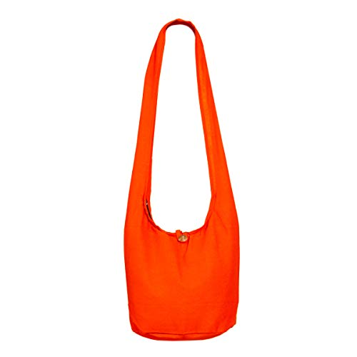 PANASIAM Shoulderbag, Unicolor Orange, M