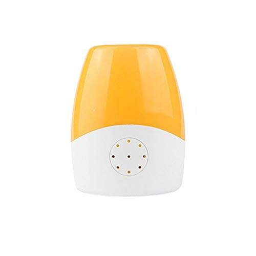 zlw-shop Lámparas de Pared Lámpara de Pared enchufable de la cabecera del Dormitorio de la luz de la Noche llevada Ahorro de energía con el Sensor Ligero Encendido/Apagado automático Lámpara de Pared