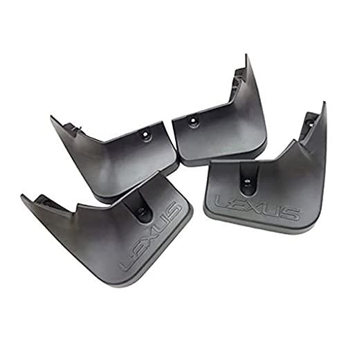 4 guardabarros de coche para NX200T NX200 NX300 2014-2016, guardabarros delanteros y traseros de plástico ABS, con cierre y tornillos de montaje