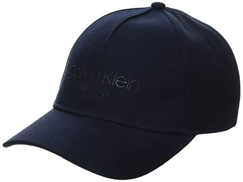 Calvin Klein Damen Ck Ny Bb Baseball Cap, Blau (Navy Cef), One Size (Herstellergröße: OS)