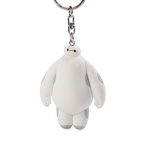 Toy Zany Disney Big Hero 6 White Baymax 3D Figural Keyring