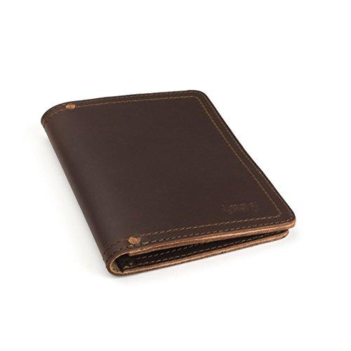 Hot Sale Saddleback Leather Notepad Holder Small Chestnut