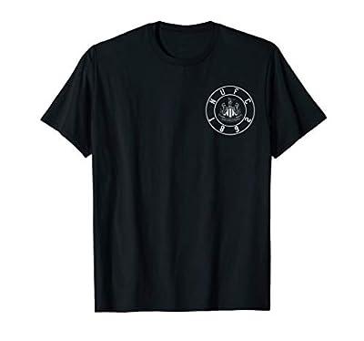 Newcastle United FC Patch T-shirt Black