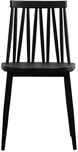 FHW Kunststoff, Faul Rückenlehne Hocker, Freizeit Schreibtisch/Büro/Möbel (Farbe: Blau Farbe, Größe: 63x46x56.5CM) FACAI (Color : Black Color, Size : 63x46x56.5CM)