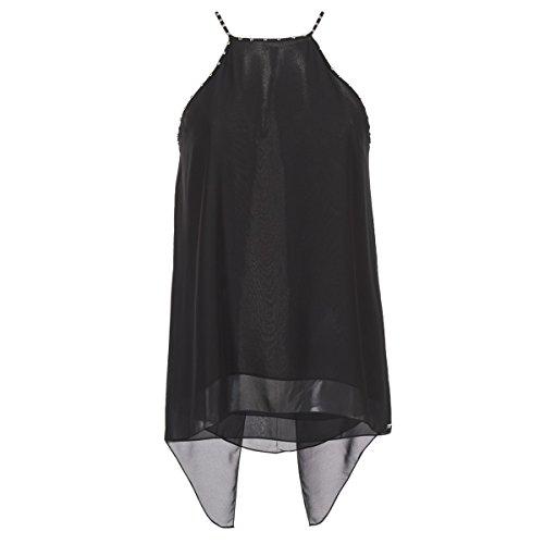 Guess SL Francy Blusa, Negro (Jet Black A996), M para Mujer (Ropa)