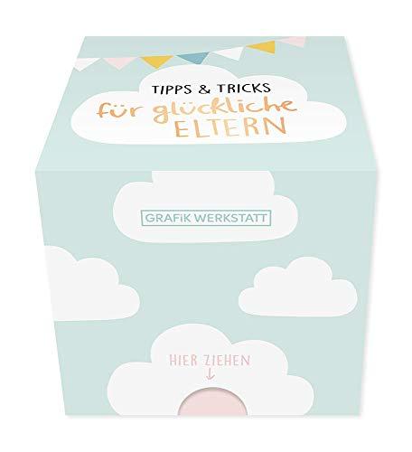 Grafik-Werkstatt Message in a Box |Geschenkidee | 30 Kärtchen zum abreissen | Geburt