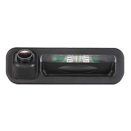 Greatek Caméra de recul étanche HD Super Pro Vision Nocturne 170 ° Grand Angle de recul Caméra de recul pour Trunk Handle Freelander/Ford Mondeo CHIA-X 2/ Ford Focus hantchback