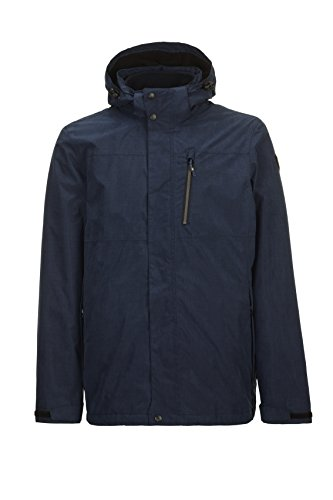 Killtec Herren Vego 3 In 1 Funktionsjacke, dunkelnavy, 3XL