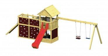 Winnetoo Pro Spielturm Variation 7 - öffentliche Spielanlagen
