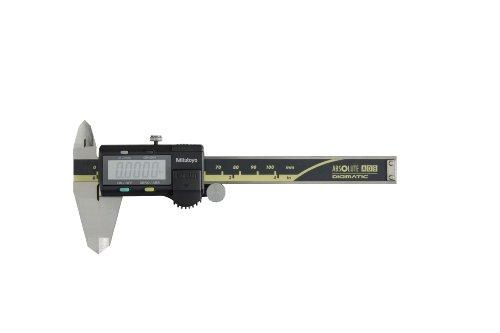 "Mitutoyo 500-195-30 Advanced Onsite Sensor Absolute Scale Digital Caliper, 0-4"" Range, Stainless Steel"