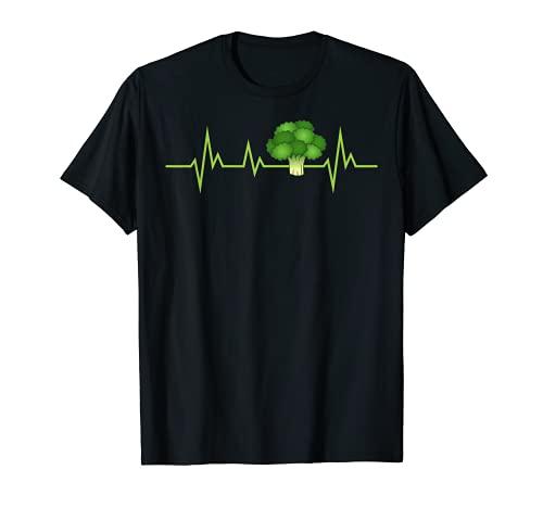 Brcoli Fresco Para Hombres Mujeres Vegetariano Vegetariano Vegetariano Vegetario Camiseta