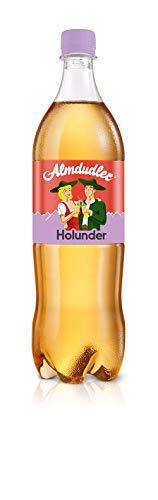 Almdudler Holunder Alpenkräuerlimonade, 6er Pack (6 x 1 l), 28040