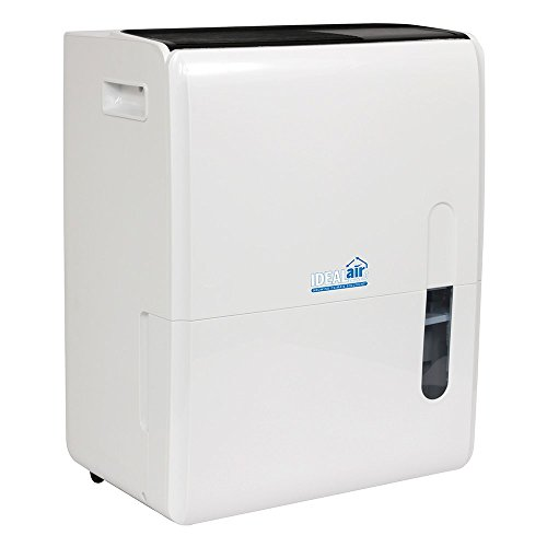 Ideal-Air HGC700829 Dehumidifier 60 Pint - Up to 120 Pints Per Day White