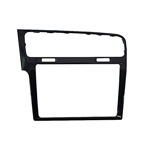 Piezas de aire acondicionado 5gg819728aa NUEVO NUEVO NEGRO GLOSSY 8 '9.2'CD MIB Radio Player Frame Dash Center Trim Placas de bisel Fit para VW Golf 7 7.5 MK7 GTI 2018 2019 Piezas de aire acondicionad