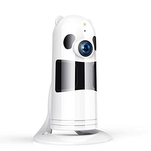 DBM-TOR HD 1080P Cámara Panorámica/WiFi Cámara IP/Cámara Vigilancia/Cámara Seguridad y Inalámbrica/Vigilabebes Baby Monitor IR Visión Nocturna/2-way Talking Detección de Movimiento Vista Remota