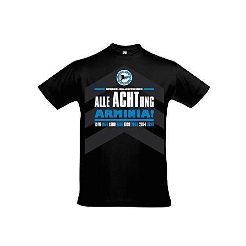 T-Shirt Aufstieg Alle Achtung Arminia! Herren (M)