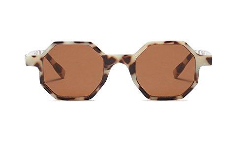 Occhiali Di Protezione Solare Piccolo Esagono Occhiali Da Sole per Donne Quadrati Vintage Plastica Eyewear