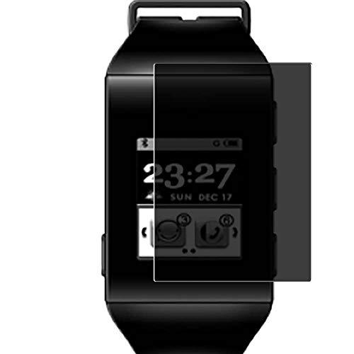 Vaxson Anti Spy Schutzfolie, kompatibel mit ZTE BlueWatch smartwatch Smart Watch, Displayschutzfolie Bildschirmschutz Privatsphäre Schützen [nicht Panzerglas]