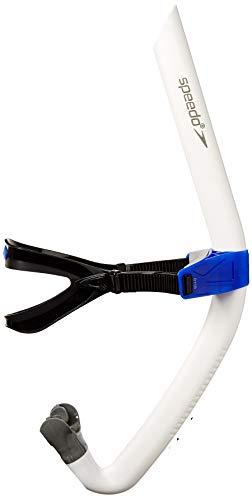 Speedo UnisexAdult Swim Training Snorkel Bullet Head White One Size