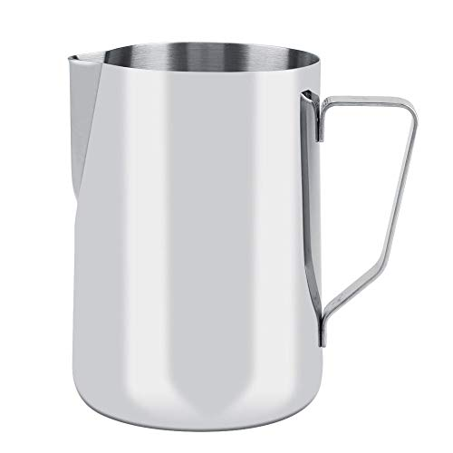 Milchschaumbecher - Edelstahl Milchschaumbecher Kaffeekanne Krug Latte Art.-Nr.(1500ML)
