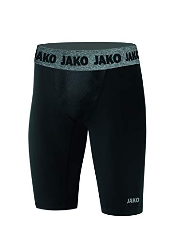 JAKO Herren Short Tight Compression 2.0, schwarz, L
