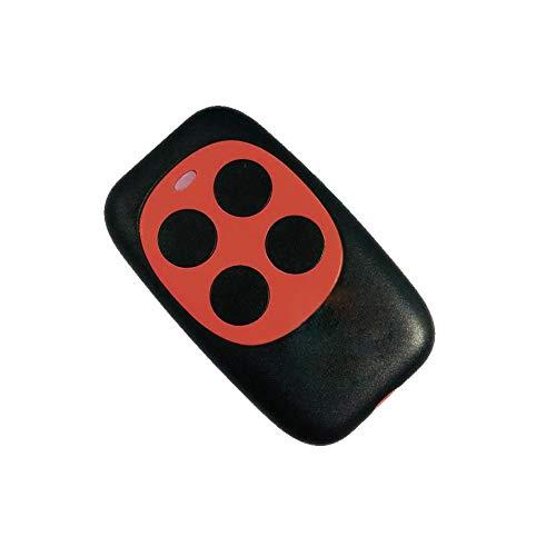 Fernbedienung Universal 433 MHz 4 Tasten Kabellos Elektrische Garagentor Rollladen Türöffner Schlüssel Vorhang Tür Fernbedienung Schalter, beige
