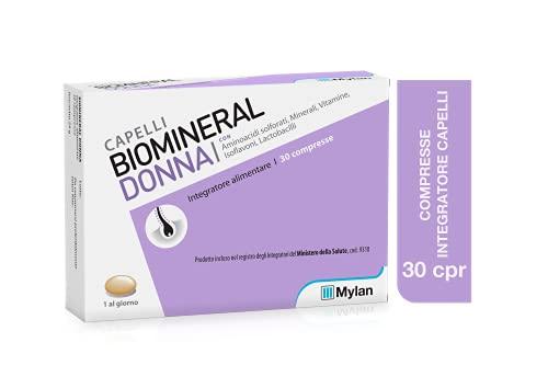 integratore alimentare per capelli deboli specifico per Donna Biomineral-D 30 compresse
