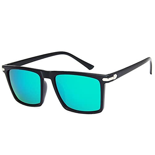 BAJIE Gafas de Sol Gafas de Sol de Verano para Hombre Gafas de Sol de Moda Gafas de Sol cuadradas para Hombre Gafas de Sol para Conducir al Aire Libre Gafas para Hombre