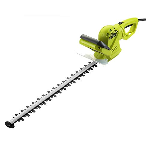 DEWINNER Hedge Trimmer, Electric Cutter, 710W, 61CM/24'' Blade Length with Cover, 24mm Tooth Opening...