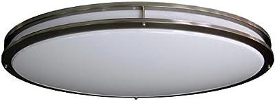 HC Lighting - Jumbo Sized - Dimmable LED Ceiling Fixtures 70 Watt Warm White 120 Volt