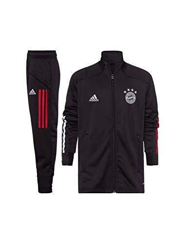 FC Bayern München Teamline Trainingsanzug schwarz Kinder, 164