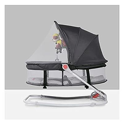 VIVIANSHOP Nueva Silla Mecedora de bebé bebé Mecedora Mecedora Mecedora sillón reclinable recién Nacido recién Nacido reconfortante Mecedora Silla Grey