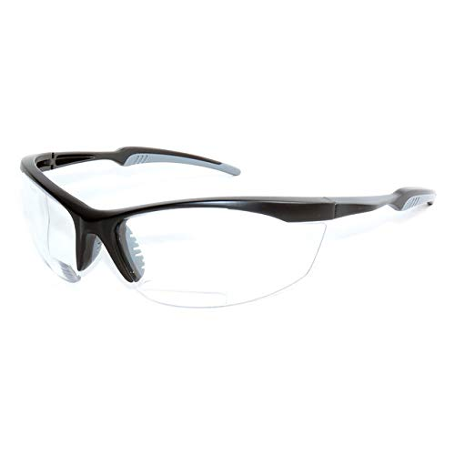 ARMITAGE Safety Bifocal Glasses AMB-610777 (+1.50, Clear)