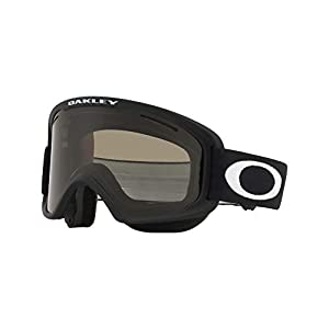 Oakley O Frame 2.0 Snow Goggle, Matte Black, Medium, Dark Grey Lens