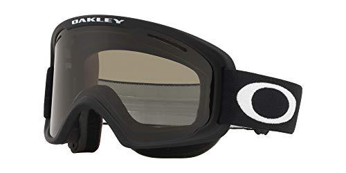 Oakley O Frame 2.0 Snow Goggle, Matte Black, Medium, Dark Grey Lens
