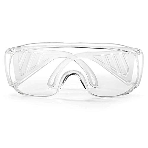 Veiligheidsbril virussen, stofdicht, dual ramen, anti-condens, antisplash-anti-effect, laboratoriumveiligheidsbril