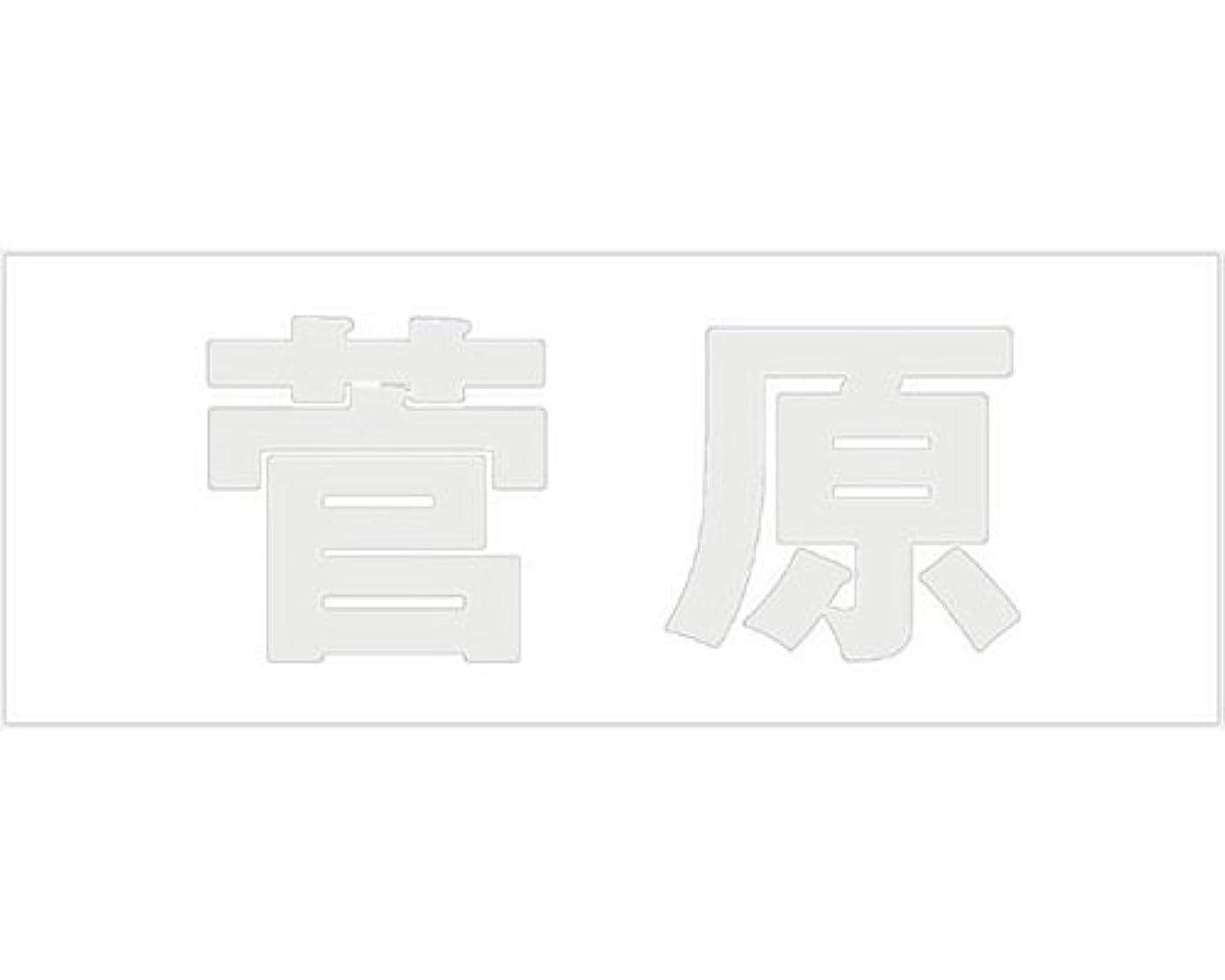 実験若いミュージカル切文字 カッティングシート ゴシック文字 ???????? 高さ50?? 菅原 オーダーメイド 納期8営業日