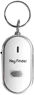N / A LED Pfeife, Schlüsselfinder mit blinkendem Signalton, Alarmfunktion, Anti Verlust, Schlüsselfinder mit Schlüsselring, Heimzubehör