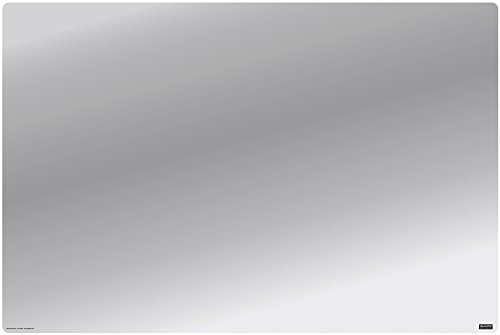 "IMAGINE WORK SURFACE Huge Ultra-Thin 24"" x 36"" Non-Slip Desk Pad Made in USA - Clear"
