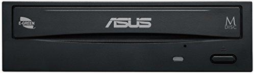 『Asus Windows10対応 M-DISC対応 最大24倍速書込 SATA接続 DVD/CDライティングソフト付き DRW-24D5MT』の2枚目の画像