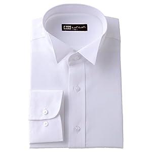 (ワワジャパン)WAWAJAPAN 結婚式に使えるウイングカラーシャツ K-2(シングルカフス) (L)