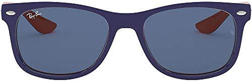 Ray-Ban Junior 0RJ9052S 178/80 47 Gafas de sol, Blue/Blue, Unisex-niños