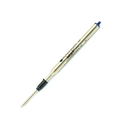 Monteverde Soft Roll Ballpoint Refill for Lamy Ballpoint Pens, Blue/Black, 2 Pack (L132BB)