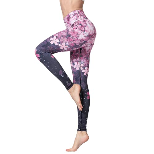 QTJY Pantalones de Yoga para Levantar la Cadera Sexy para Mujer Push-ups sin Costuras Celulitis Fitness Gym Leggings Running Pantalones de chándal de Entrenamiento A L