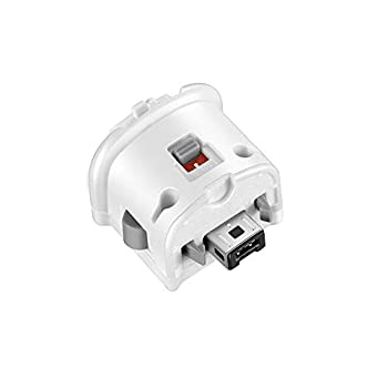 NC Motion Plus Adapter Replacement for Wii Motion Plus Adapter-Sensor Accelerator and Nintendo Remote Controller Compatible  White 1 pcs