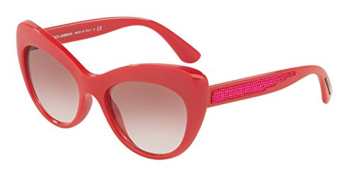 Dolce & Gabbana 0DG6110 30978D 52 Occhiali da Sole, Rosa (Fuxia/Pinkgradient), Donna