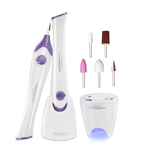 Set Manicure e Pedicure Elettrico,TOUCHBeauty Kit di...